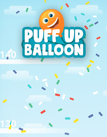 puff up balloon